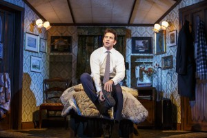 Andy Karl (Phil Connors) Photo by Joan Marcus
