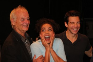 Bill Murray, Barrett Doss & Andy Karl