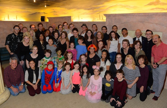 Prime Minister Justin Trudeau and family attended a performance of MATILDA THE MUSICAL, at Toronto's Ed Mirvish Theatre. Photo: Tom Sandler