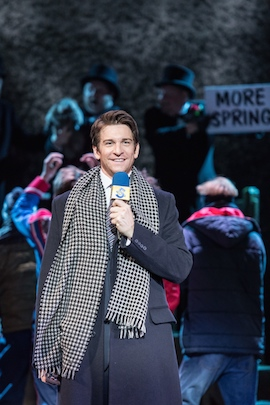 Andy Karl (Phil Connors) Photo © Manuel Harlan