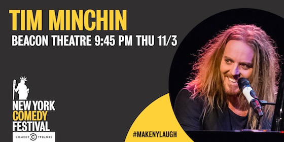 NYCF Tim Minchin