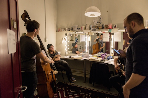 OV Variety-Dressing Room. Photo by Manuel Harlan