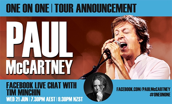 Paul McCartney/Tim FB Live