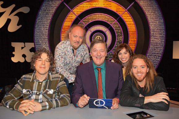 Photo thanks to QI (BBC Two, Fridays)