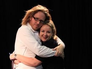 Tim and Sasha Feachem, Producer of The Infinite Monkey Cage
