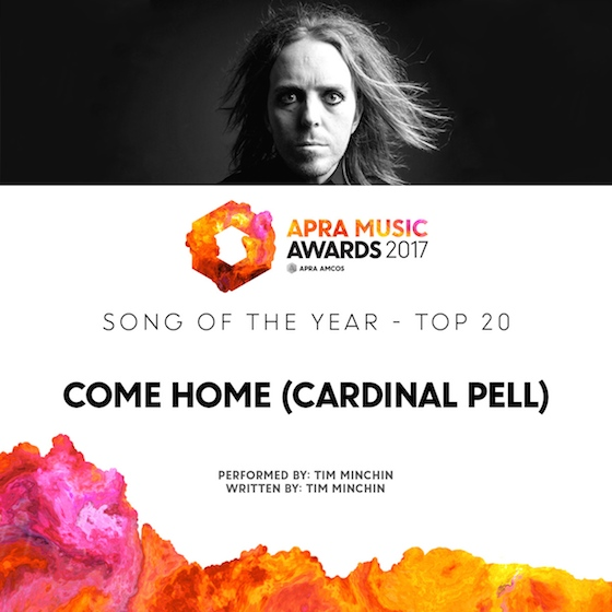 TIM MINCHIN APRA shortlist b