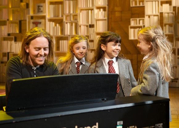Tim, Kerry Ingram, Adrianna Bertola and Josie Griffiths (Original production cast from Stratford-upon-Avon November 2010)