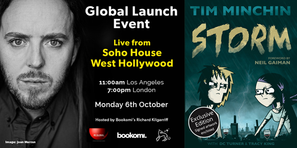 Storm Book Launch - 6th October 2014