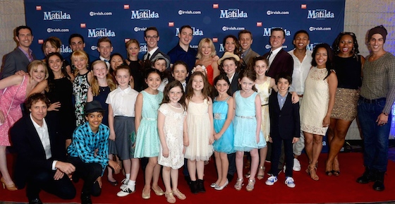 Toronto cast on the red carpet for Opening Night