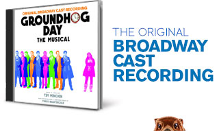 Groundhog Day original Broadway cast recording CD