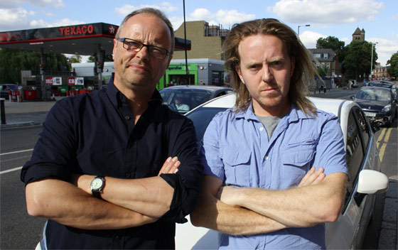 Tim and Robert by kind permission of UKTV